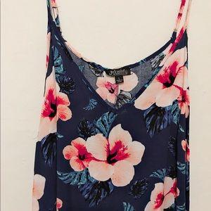 Strap Hawaiian Flower Dress 🌺